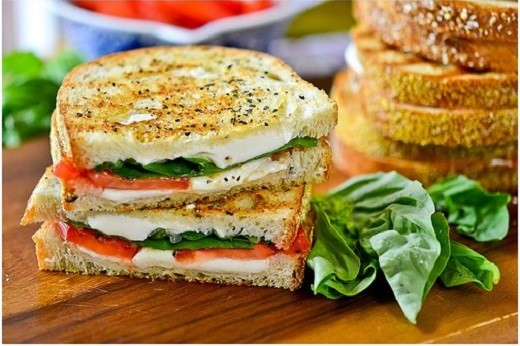 Margherita-Grilled-Cheese-Sandwich